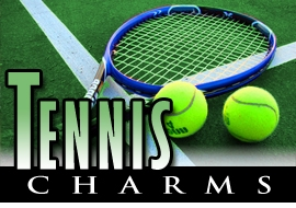 <BR>   WHOLESALE TENNIS CHARMS <BR> CADMIUM, LEAD AND NICKEL FREE <BR>             SOLD INDIVIDUALLY