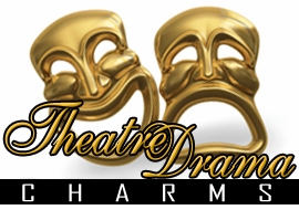 <BR>    WHOLESALE THEATRE DRAMA CHARMS <BR> CADMIUM, LEAD AND NICKEL FREE <BR>             SOLD INDIVIDUALLY