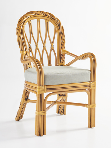 Alcove Rattan Dining Arm Chair