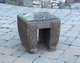 All Weather Wicker End Table Galveston