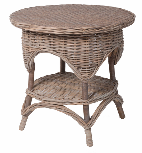 Amherst Wicker End Table