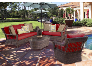 Auburn Outdoor Wicker Collection
