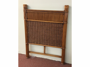 Barbados Rattan Twin Headboard