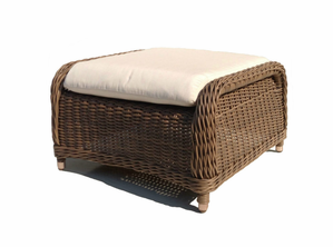 Bayshore Outdoor Wicker Ottoman