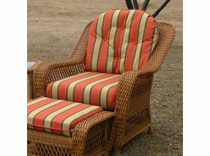 Chair Cushion Set - Wicker Style