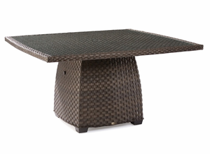 Charleston Outdoor Wicker 60 Inch Dining Table