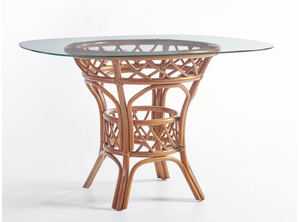 Crystal Lake Rattan 48 Inches Round Dining Table