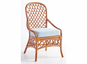 Crystal Lake Rattan Dining Side Chair