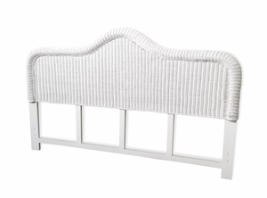 Elana king Size Wicker Headboard