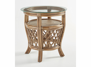 Grenville Rattan End Table
