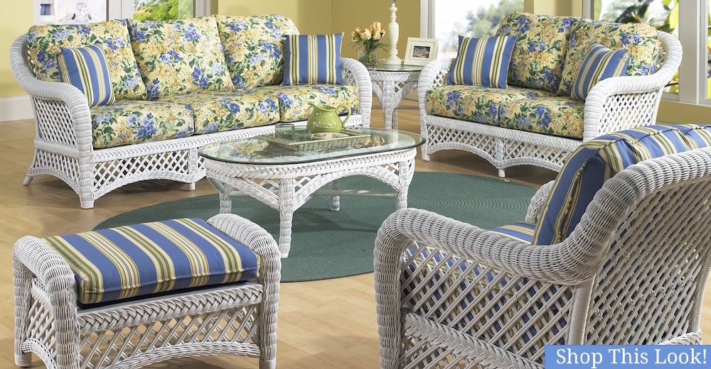 Wicker Furniture: Buy Outdoor Wicker, Rattan Furniture for the Sunroom, Patio, Porch