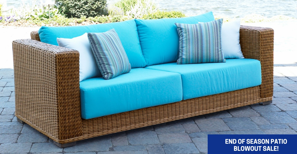 Wicker Furniture: Outdoor Patio Furniture, Rattan Furniture for the Sunroom, White Patio Sets