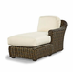 Lake George Outdoor Wicker Sectional With Chaise