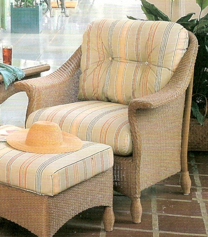Lloyd Flanders Embassy Chair Replacement Cushions