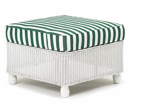 Lloyd Flanders Front Porch Ottoman Replacement Cushion