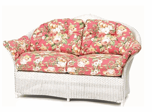 Lloyd Flanders Keepsakes Loveseat Replacement Cushions