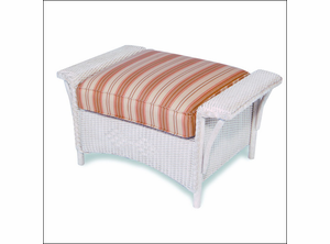 Lloyd Flanders Nantucket Ottoman Replacement Cushions