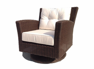 Margate Outdoor Swivel Chair