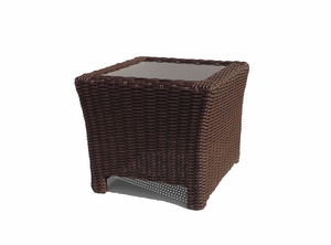 Margate Outdoor Wicker End Table
