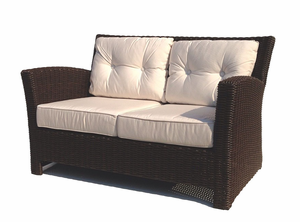 Margate Outdoor Wicker Loveseat