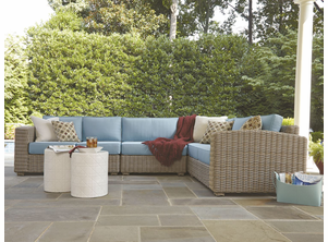 Monaco Patio Wicker Sectional