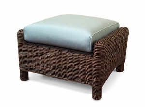 Newport Outdoor Wicker Ottoman