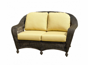 North Cape Port Royal and Charleston Loveseat Replacement Cushion