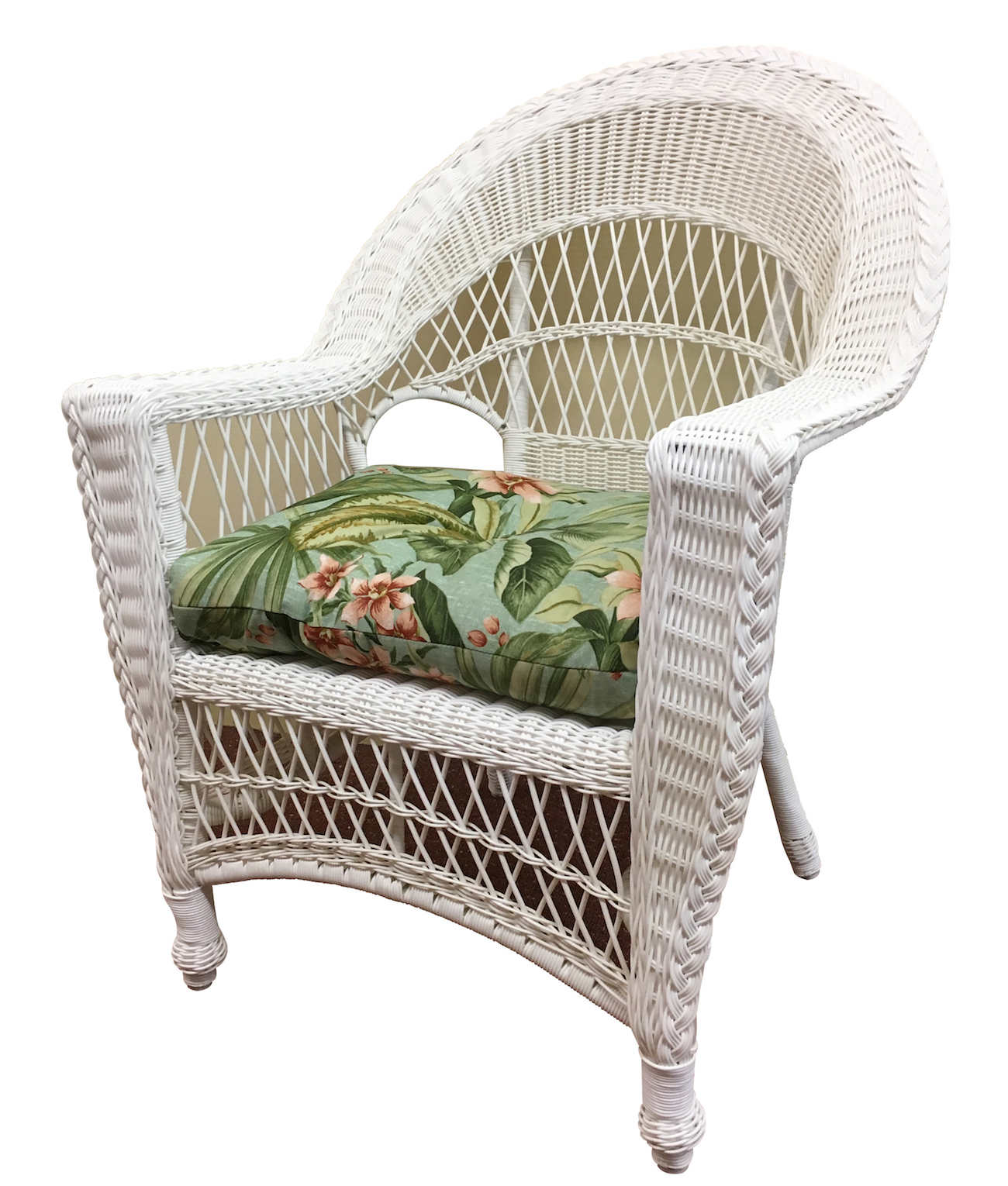Outdoor Wicker Chair Cape Cod