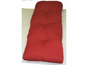 Outdoor Wicker Chaise Cushion