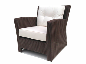Outdoor Wicker Club Chair
