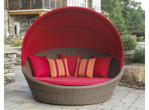 Outdoor Wicker Daybed - Santa Barbara