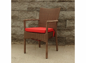 Outdoor Wicker Dining Chair - Santa Barbara