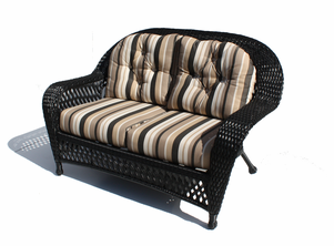 Outdoor Wicker Loveseat - Montauk