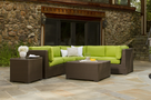 Outdoor Wicker Sectional | Sanibel