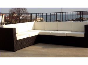 Outdoor Wicker Sectional - South Hampton
