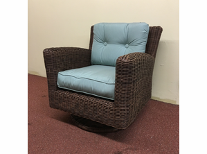 Outdoor Wicker Swivel  Chair - Newport