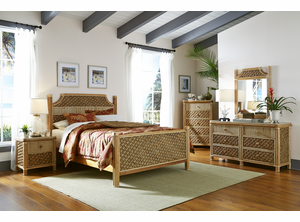 Palm Bay Rattan Bedroom Set
