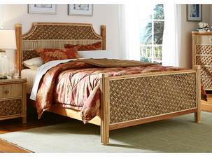 Palm Bay Rattan King Bed