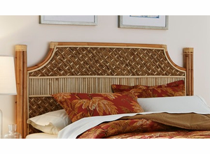 Palm Bay Rattan King Headboard