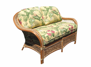 Palm Bay Rattan Loveseat