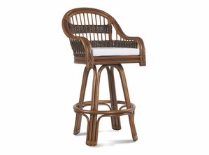 Rattan Bar Stool: Tigre Bay Rattan