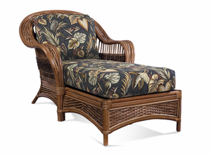 Rattan Chaise Lounge - Tigre Bay