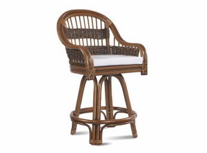 Rattan Counter Stool: Tigre Bay Rattan