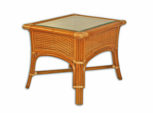 Rattan End Table - Lakeworth