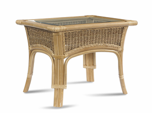 Rattan End Table: Tropical Breeze Collection