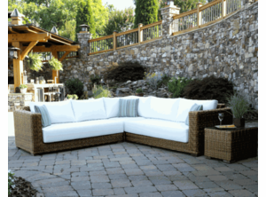 Santa Barbara Outdoor Wicker Sectional Collection