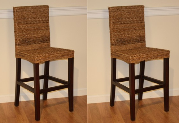 Seagrass Counter Stool Maui Wicker Paradise