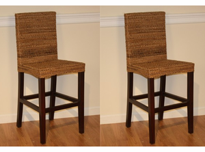 Seagrass Counter Stool - Maui - Set of 2