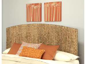 Seagrass King Headboard
