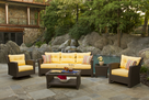 Patio Wicker Furniture Group - Sonoma